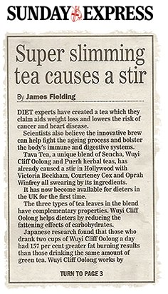 Tava Tea Super Schlankmach Tee sorgt für Furorer