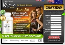Ketone Gold Website