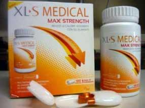 Was sind die in XLS Medical Max Strength verwendeten Inhaltsstoffe?