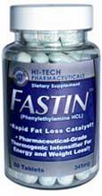 Fastin wird in den USA als Diätpille beworben
