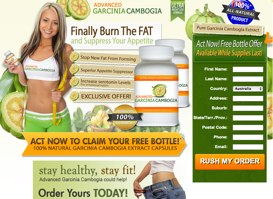 Advanced Garcinia Cambogia - Kostenlose Flasche