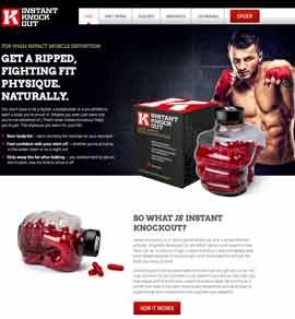Instant Knockout kann nur auf der offiziellen Website