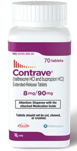Contrave ist eine Tablette für Gewichtsverlust