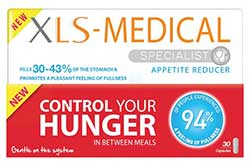 XLS Specialist Appetite Reducer