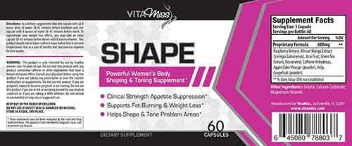 Vitamiss Shape Bewertungen und Kundenmeinungen